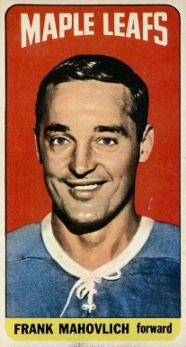 1964 Topps Frank Mahovlich #85 Hockey Card