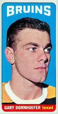 1964 Topps Gary Dornhoefer #72 Hockey Card