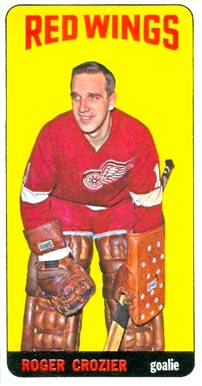 1964 Topps Roger Crozier #47 Hockey Card