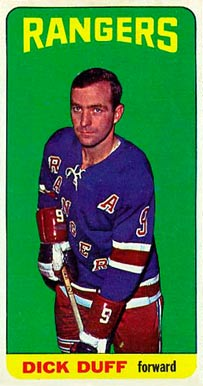 1964 Topps Dick Duff #46 Hockey Card