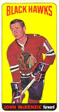 1964 Topps John McKenzie #30 Hockey Card