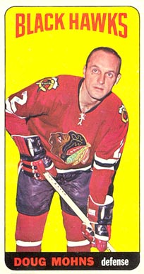 1964 Topps Doug Mohns #25 Hockey Card