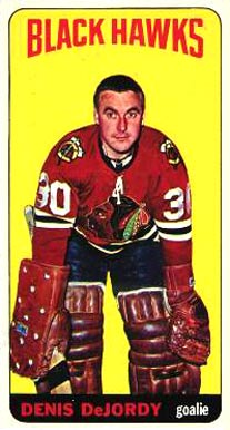 1964 1964-65 Topps Hockey Denis Dejordy #22 Hockey Card