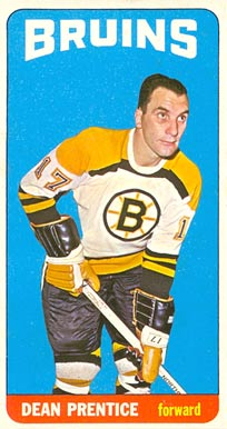 1964 Topps Dean Prentice #19 Hockey Card