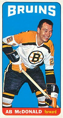 1964 Topps Ab McDonald #16 Hockey Card