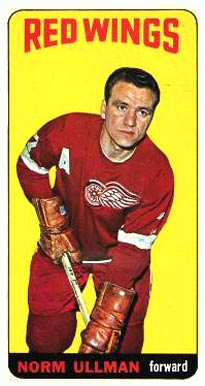 1964 Topps Norm Ullman #15 Hockey Card