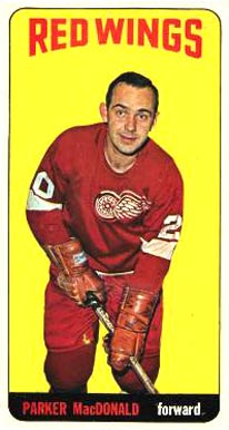 1964 1964-65 Topps Hockey Parker Macdonald #11 Hockey Card