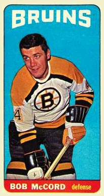 1964 Topps Bob McCord #10 Hockey Card