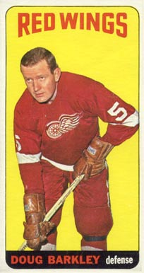 1964 Topps Doug Barkley #9 Hockey Card