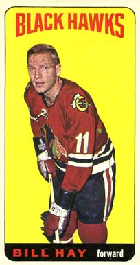 1964 1964-65 Topps Hockey Bill Hay #7 Hockey Card