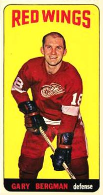 1964 Topps Gary Bergman #8 Hockey Card