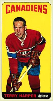 1964 Topps Terry Harper #3 Hockey Card