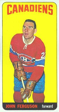 1964 1964-65 Topps Hockey John Ferguson #4 Hockey Card