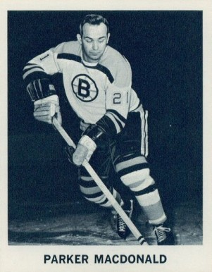 1965 Coca Cola Parker Macdonald #11 Hockey Card