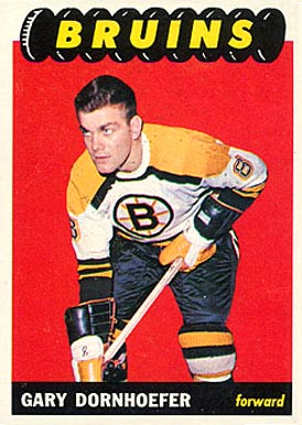 1965 Topps Gary Dornhoefer #38 Hockey Card
