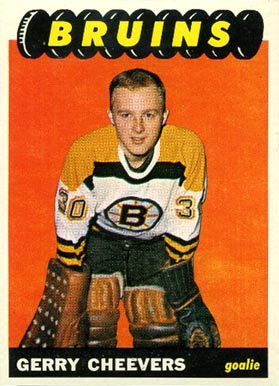 1965 Topps Gerry Cheevers #31 Hockey Card