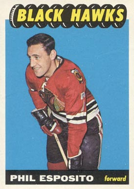 1965 Topps Phil Esposito #116 Hockey Card