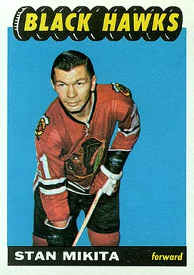 1965 Topps Stan Mikita #60 Hockey Card