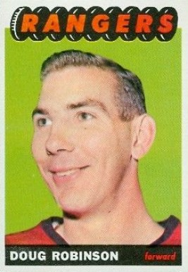 1965 Topps Doug Robinson #26 Hockey Card