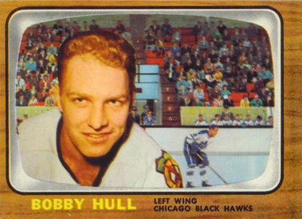 1966 Topps Bobby Hull 112 Hockey Vcp Price Guide