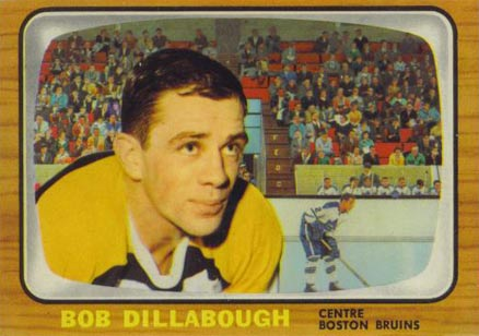 1966 Topps Bob Dillabough #98 Hockey Card