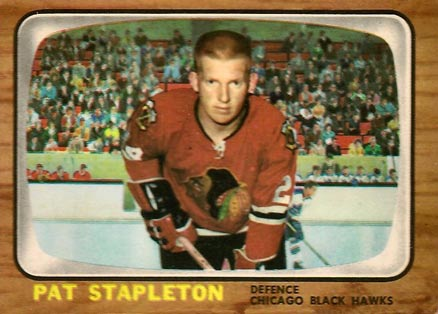 1966 Topps Pat Stapleton #57 Hockey Card