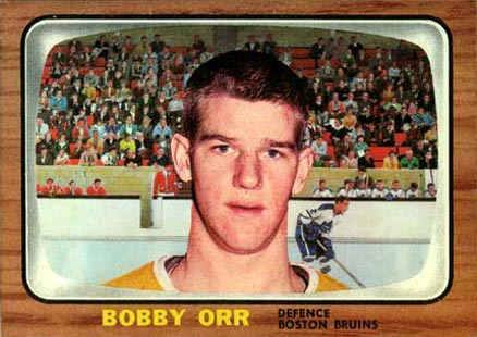1966 Topps Bobby Orr #35 Hockey Card