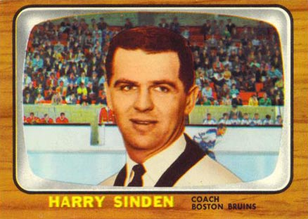 1966 Topps Harry Sinden #31 Hockey Card
