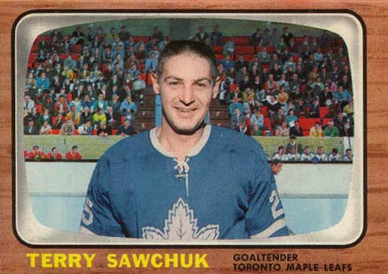 1966 Topps Terry Sawchuk #13 Hockey Card