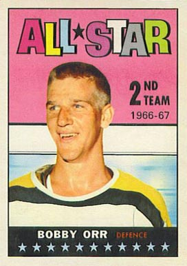 1967 Topps Bobby Orr #128 Hockey Card