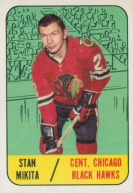 1967 Topps Stan Mikita #114 Hockey Card