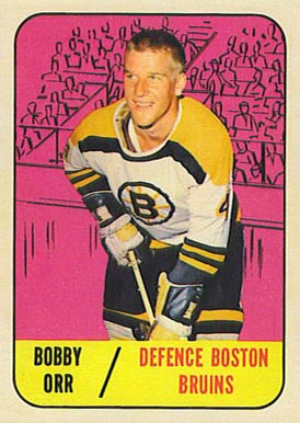 1967 Topps Bobby Orr #92 Hockey Card