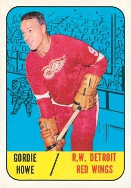 1967 Topps Gordie Howe #43 Hockey Card