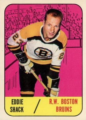 1967 Topps Eddie Shack #34 Hockey Card