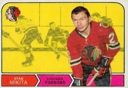 1968 O-Pee-Chee Stan Mikita #155 Hockey Card