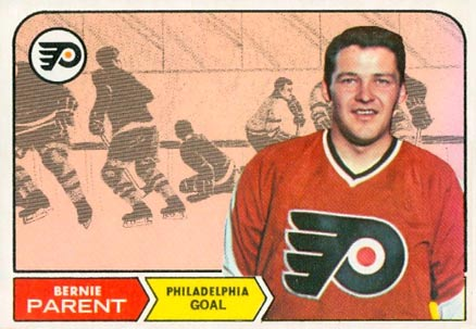 1968 O-Pee-Chee Bernie Parent #89 Hockey Card