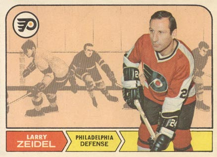 1968 O-Pee-Chee Larry Zeidel #92 Hockey Card