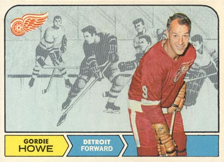 1968 O-Pee-Chee Gordie Howe #29 Hockey Card