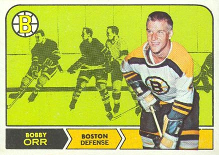 1968 O-Pee-Chee Bobby Orr #2 Hockey Card
