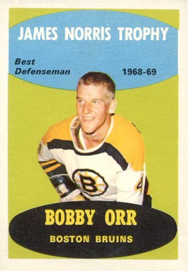 1969 O-Pee-Chee Bobby Orr #209 Hockey Card