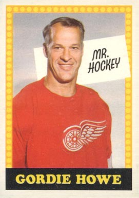 1969 O-Pee-Chee Gordie Howe #Howe-NO# Hockey Card