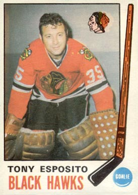 1969 O-Pee-Chee Tony Esposito #138 Hockey Card