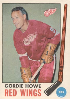 1969 O-Pee-Chee Gordie Howe #61 Hockey Card