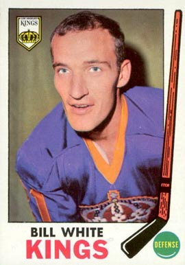 1969 Topps Bill White #101 Hockey Card