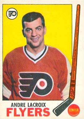 1969 Topps Andre Lacroix #98 Hockey Card