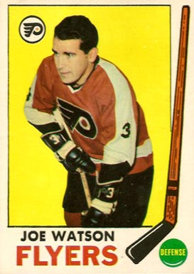 1969 Topps Joe Watson #93 Hockey Card