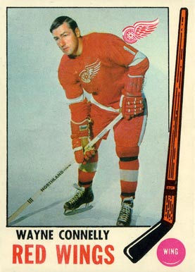 1969 Topps Wayne Connelly #60 Hockey Card