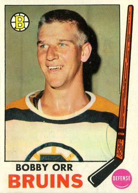 1969 Topps Bobby Orr #24 Hockey Card
