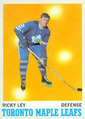 1970 O-Pee-Chee Rick Ley #108 Hockey Card