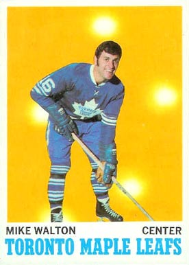 1970 O-Pee-Chee Mike Walton #109 Hockey Card
